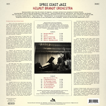 HELMUT BRANDT ORCHESTRA – Spree Coast Jazz Back Cover