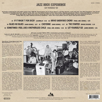 JAZZ ROCK EXPERIENCE - Let Yourself Go B Side