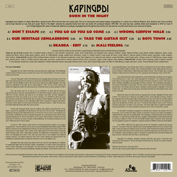 KAPINGBDI – Born In The Night B Side