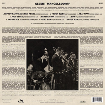 ALBERT MANGELSDORFF Mainhattan Modern B Side