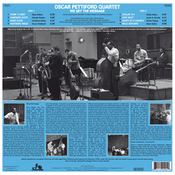 OSCAR PETTIFORD QUARTETWe Get The Message B