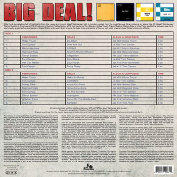 VARIOUS ARTISTS Big Deal B