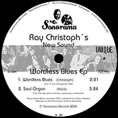 RAY-CHRISTOPH`S-NEW SOUND-Wordless-Blues-EP
